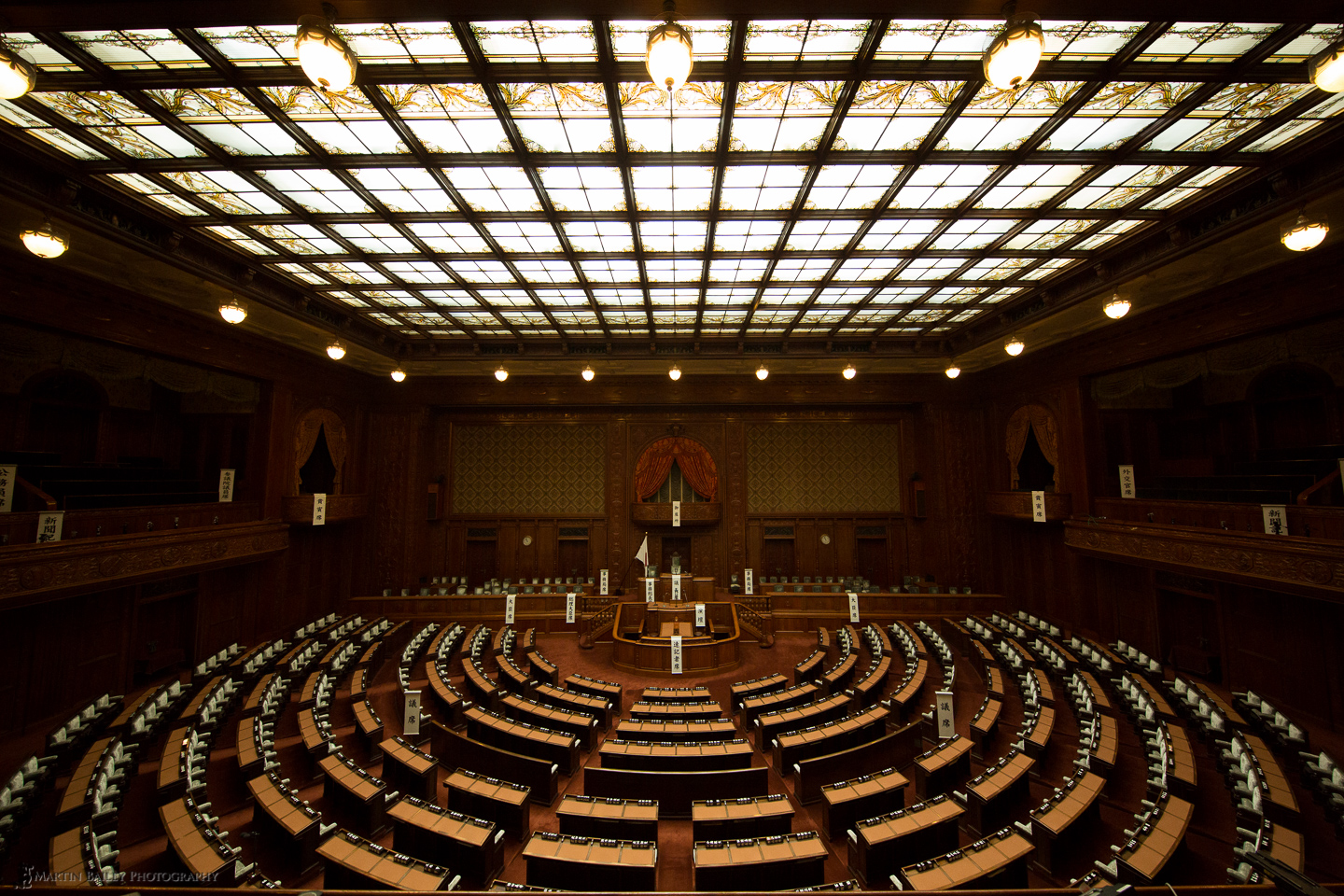 The Japan House of Representatives Diet building