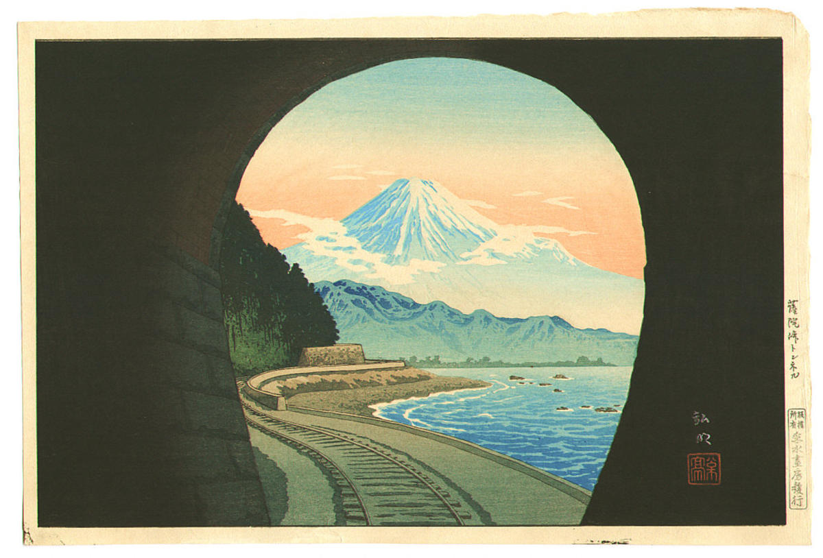 Shotei Takahashi: Satta Mountain Pass Tunnel